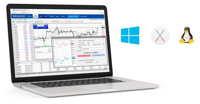 Web Trading in MetaTrader 5
